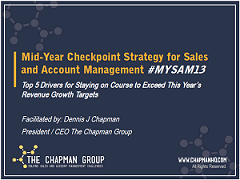 Mid-Year Checkpoint Strategy for Sales and Account Management - Strategic Account Management Best Practices - The Chapman Group